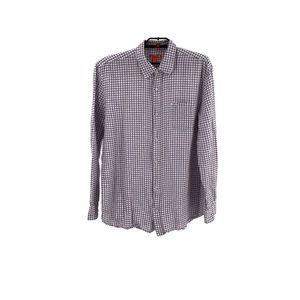 Joe Fresh Mens Casual Plaid Button Down XLARGE